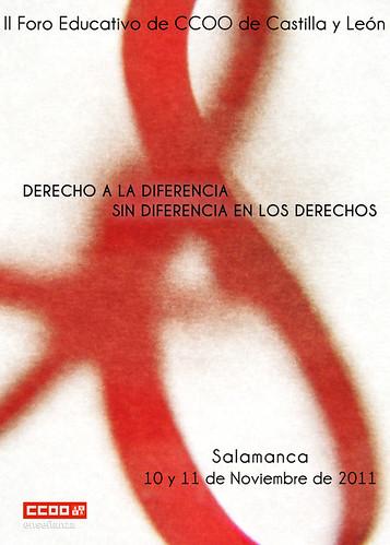 II FORO EDUCATIVO CCOO CASTILLA Y LEÓN - ACCESIT by juanluisgx