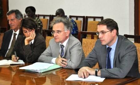 La mission C2D de la coopération française reçue par le Ministre CISSE Ibrahima