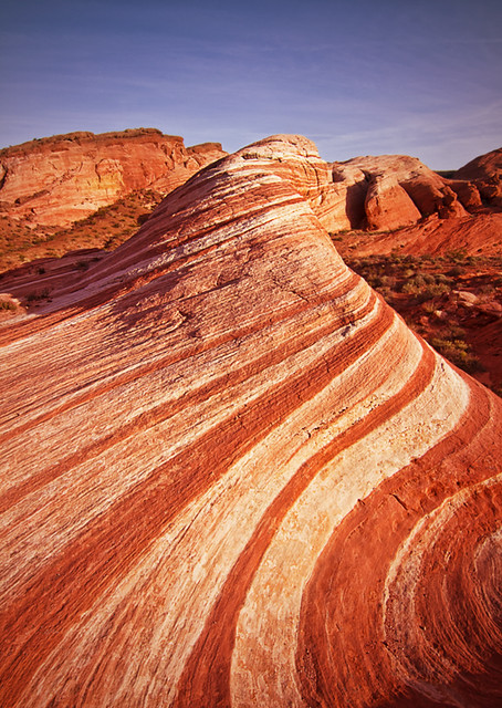 The Wave at Valley of Fire State Park in Nevada