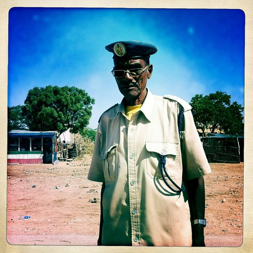 Mr Hassan, fighting the pirates Somaliland  thru Iphone Hipstamatic