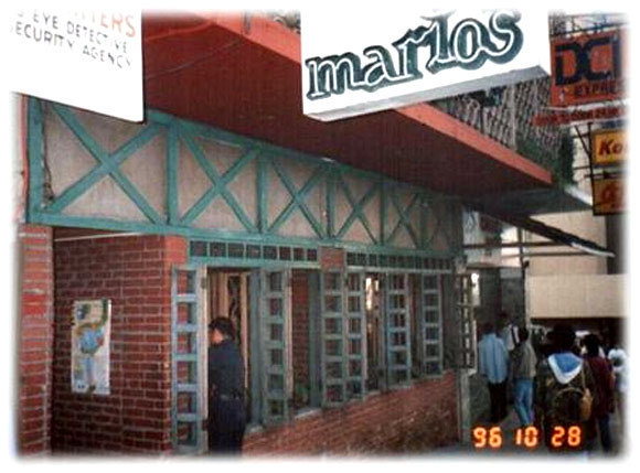Former location of the original Mario's restaurant in Baguio