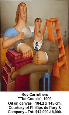 "Roy Carruthers - ""The Couple"", 1999 by artimageslibrary"