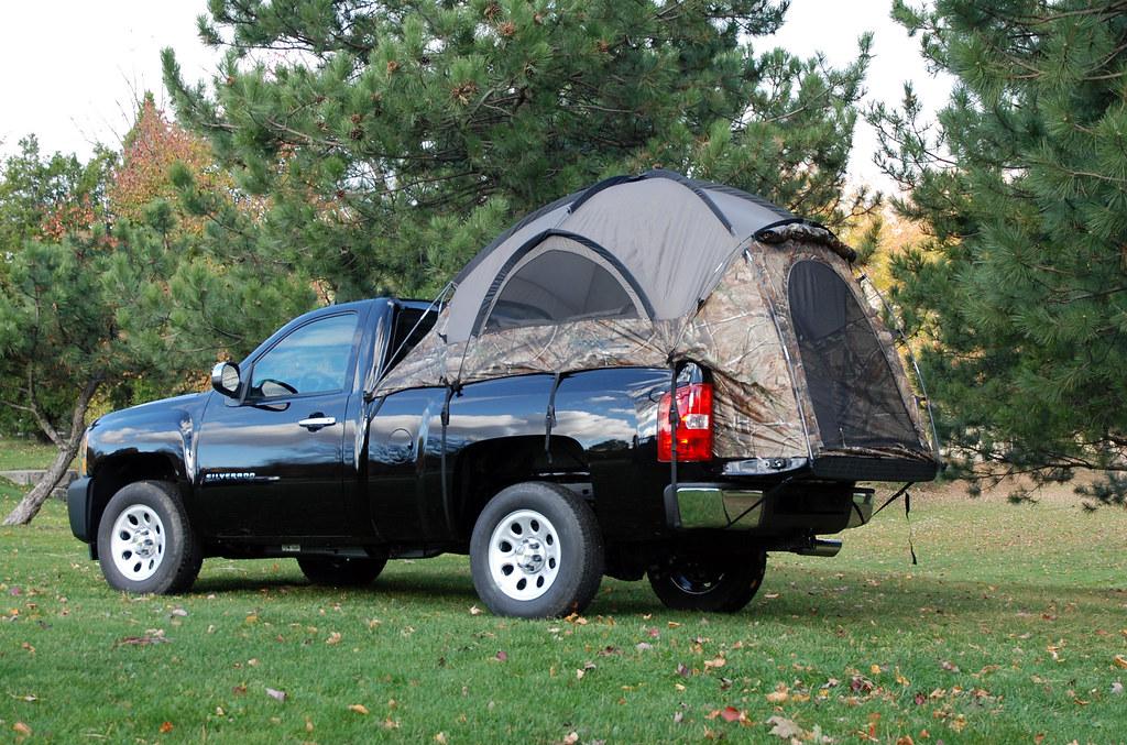 Camo Truck Tent2