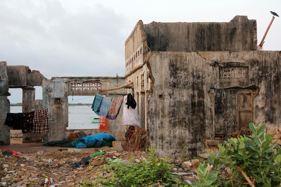 Jaffna Building Ruins
