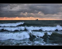Escape (Sante sea) Tags: sea italy clouds italia nuvole mare waves marino onde libertà sante dicembre2011challengewinnercontest