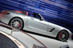 DSC_3973 (KayOne73) Tags: world auto show car lens mercedes benz la los nikon zoom angeles g center f mercedesbenz convention 28 mm nikkor mb supercar afs sls amg 2012 roadster 2011 2470 laas worldcars d7000