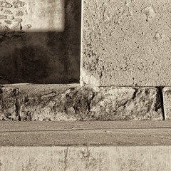 Remains III (Alejandro Mirsha.) Tags: color detail stone canon square mexico photography engraving oaxaca mitla amchphotography