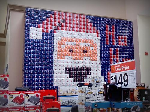 Walmart 12-pack Display