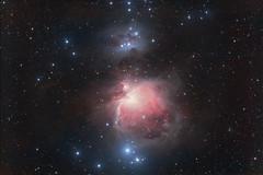 The Orion Nebula, Nov 2011 Version (CajunAstro) Tags: stars cluster telescope nebula orion m42 astrophography Astrometrydotnet:status=solved Astrometrydotnet:version=14400 Astrometrydotnet:id=alpha20111177496491