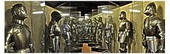 Knights in armour (PentlandPirate of the North) Tags: republic czech prague praha medieval sword shield shining knightsinarmour