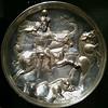 SC_Plate (Silver+Gilt), 4th century CE (Iran Sasanian period)
