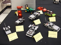 A Lotta Lego DeLorean (The Acquaintance Crate) Tags: lego delorean brickcon