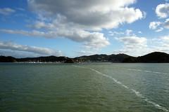 DSC01611 (Jessie K Smith) Tags: ocean trip newzealand vacation sky holiday nature beautiful landscape islands bay scenery tour dolphin dolphins nz maori bayofislands kiwi pahia