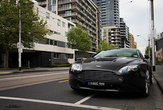 Pocket Rocket (Tom | Fraser) Tags: new italy baby english car tom grey nice interesting sam martin south wheels gray australia melbourne chapel dude clear explore yarra fraser pocket newman v8 aston vantage tailights lambo motoring audible putta b8 t0m722