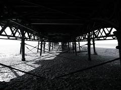 "Under the .... (Gio Marchese) Tags: ocean light shadow sea summer bw white black west beach st dark lumix coast pier nw dynamic northwest walk g indian board north under bn lancashire panasonic boardwalk nr blackpool bianco nero annes dmc lancs fylde 2011 marchese lx3 dmclx3 ""flickraward"" doublyniceshot doubleniceshot ""flickraward5"" mygearandme mygearandmepremium"