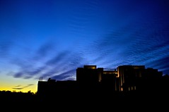 Sky_at_Night_01_(Explored #7) (Christoph Pfeilstücker) Tags: blue sky color night colorful europe nacht vivid himmel bleu ciel blau luxembourg farbe nuit couleur x100 luxembourgcity fujix100 xris74