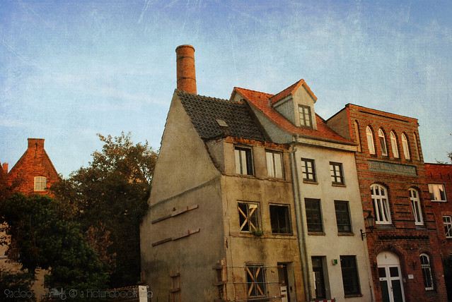 old buildings in wismar