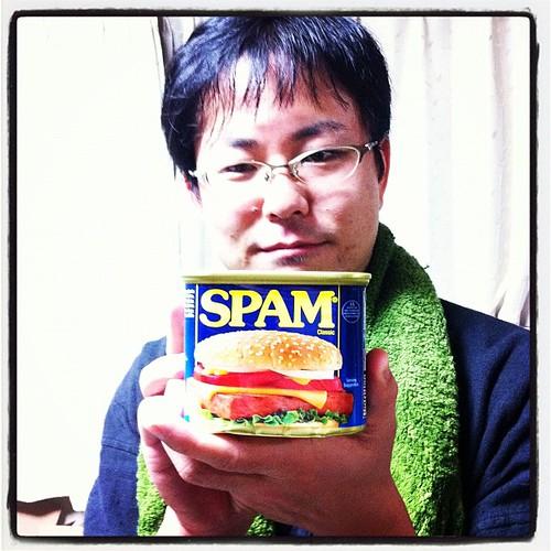 スパムを食えとか!