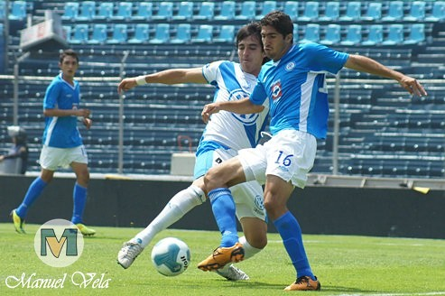 DSC00862 En Exclusiva el Puebla FC cae 3-0 ante Cruz Azul categoría SUB 20 Jornada 12 TA2011 por LAE Manuel Vela