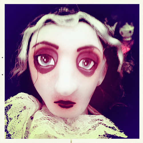 tim burton doll by ceck0face
