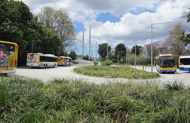 University of Queensland bus terminal