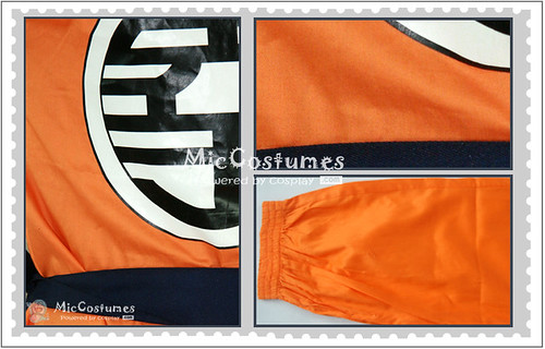 Dragon Ball Cosplay Costume With Kame Letter2