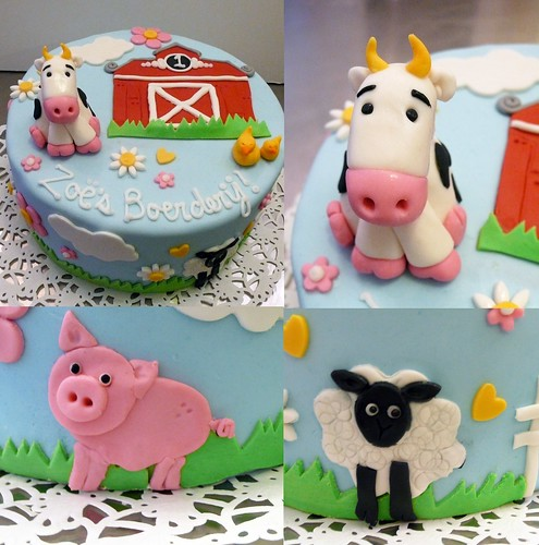Zoe's Farm Cake by CAKE Amsterdam - Cakes by ZOBOT