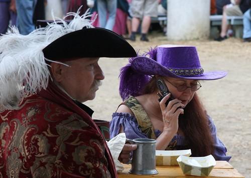 Renaissance Phone Call