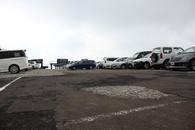 津軽岩木スカイライン駐車場