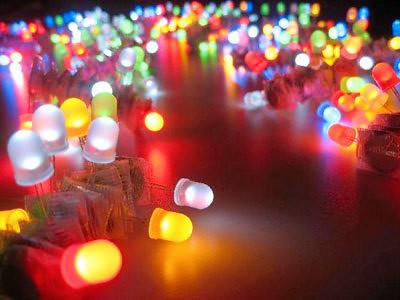Diodos LED colores