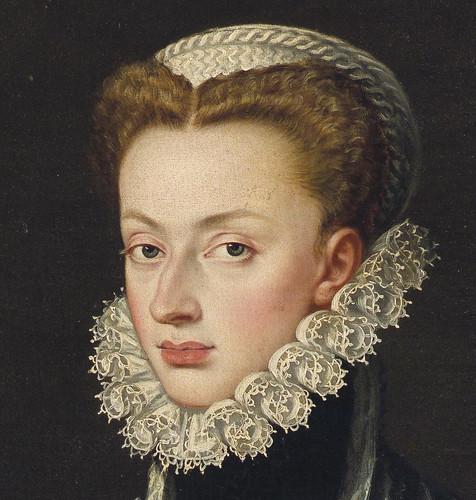 Sofonisba Anguissola - Archduchess Johanna von Austria, detail head by petrus.agricola