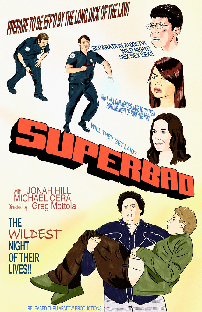 Suberbad movie poster