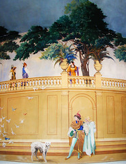 Detail:  Charles Newcomb Mural