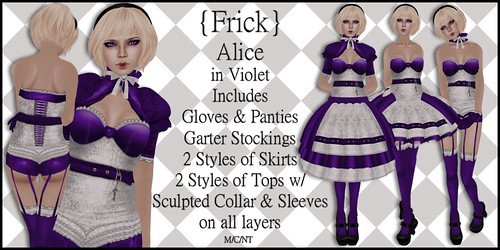 Alice in Violet - Ad