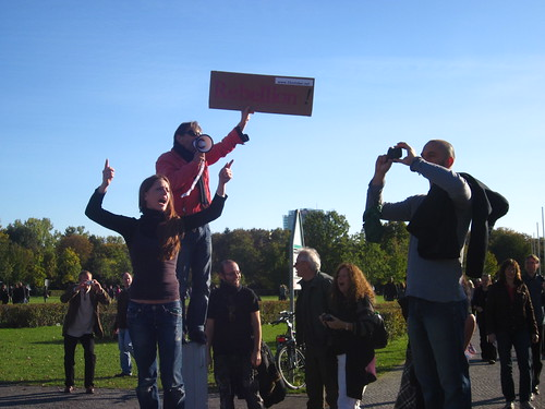 #OccupyBerlin Protest, 15 October