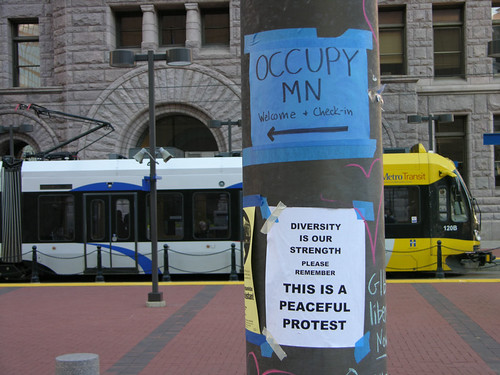 Occupy MN welcome + Check-in