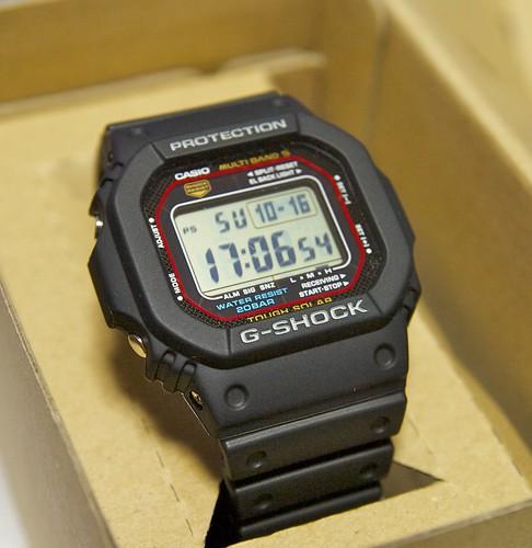 SHOCK - GW-M5600-1JF を買いました ...