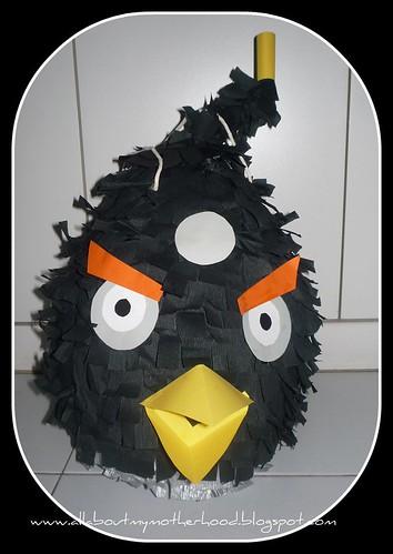 Angry Bomb Bird Pinata