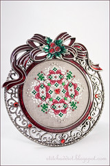 Holly Bows Ornament