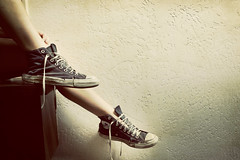 Chucks............ (Michael Brooking Photography) Tags: feet foot star cool nikon shoes converse taylor worn chuck casual tone chucks d700 michaelbrookingphotography zapatoes
