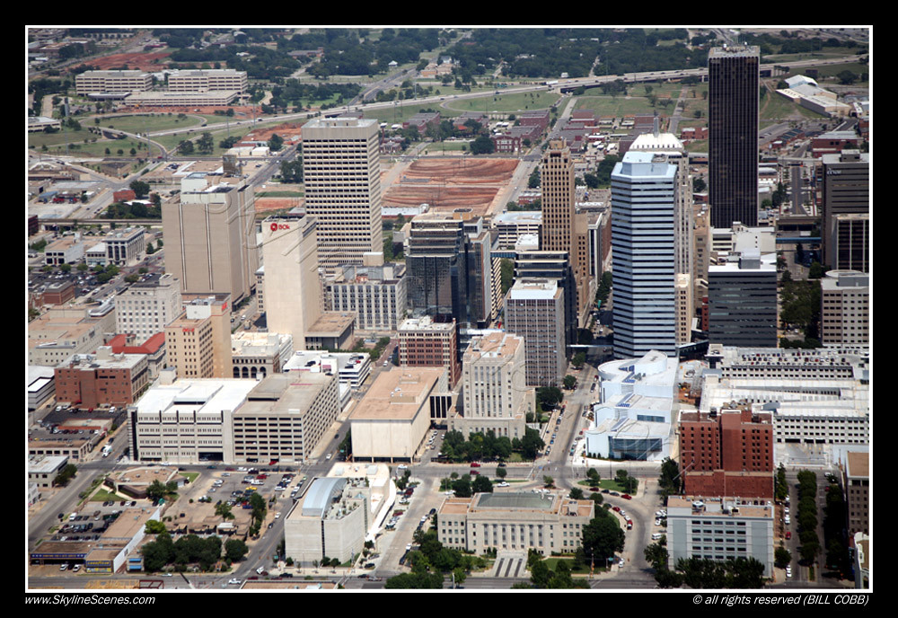 Oklahoma City, OK Skyline