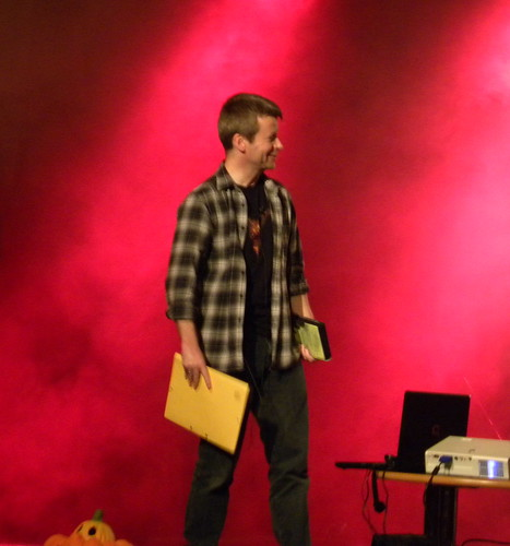 Jon Mayhew, Sefton ScareFest