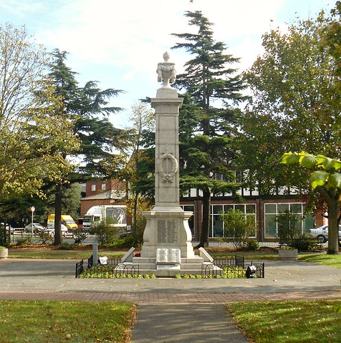 War Memorial, Newmarket, Suffolk.