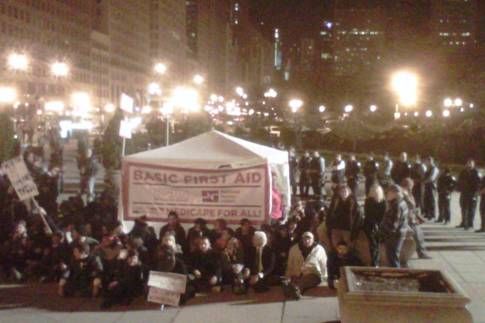 Occupy Chicago defense