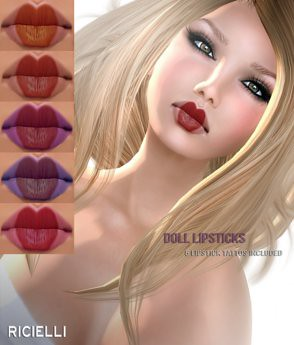 Lipstick DOLL by Cherokeeh Asteria