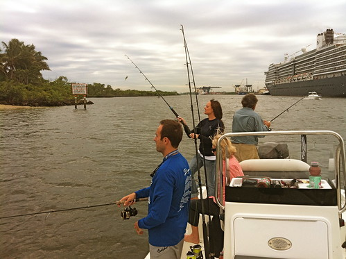 Fishing with Betty Bauman and Jeff Berardelli
