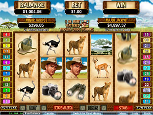 White Rhino slot game online review