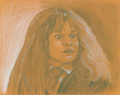 Hermione Granger [Emma Watson] (Wasfi Akab) Tags: original girls light shadow portrait people blackandwhite bw italy brown white black hot color cute sexy celebrity art love girl beautiful beauty k yellow pencil painting hair paper movie geotagged star j florence kid europe paint pretty artist italia dress artistic drawing witch iraq emma harry potter auburn east teen fantasy charcoal watson painter actress teenager actor firenze british draw brunette lovely exile middle celeb witchcraft iraqi hermione granger rowling ocher middleast akab wasfi