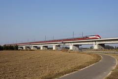 Trenitalia ETR500AV (Maurizio Boi) Tags: railroad italy train eurostar rail railway locomotive treno av trenitalia ferrovia locomotiva ert500