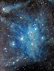 Pleiades (alizeykhan) Tags: star space nasa nebula commission spaceart sspace spacepainting spacepaintings spacetuna spaceprint astronomicalillustration nebulapaintings astronomicalpainting
